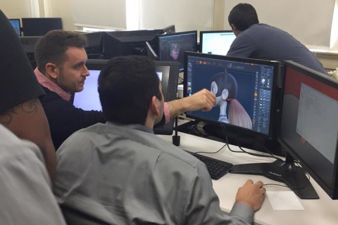 3D Modeling Lecture at the University of the Incarnate Word